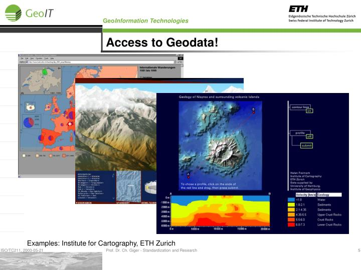 Access to Geodata!
