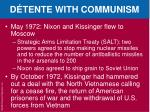 d tente with communism1