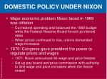 domestic policy under nixon