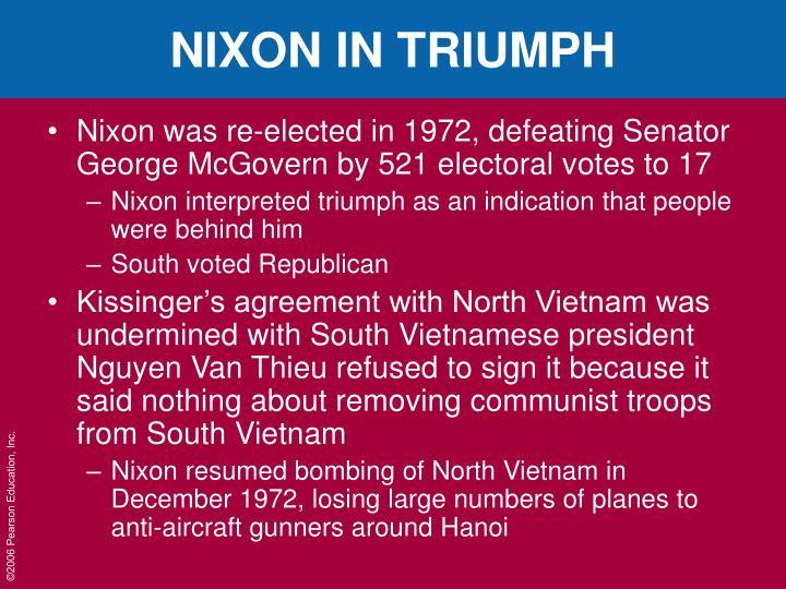 NIXON IN TRIUMPH