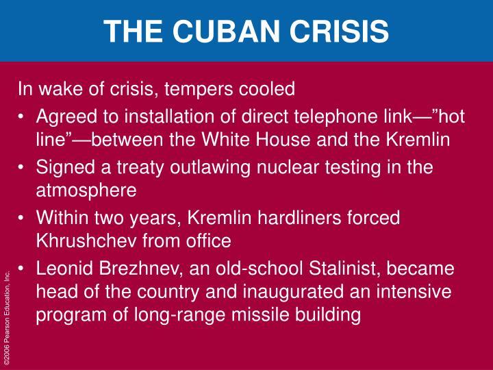 THE CUBAN CRISIS