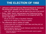 the election of 19681