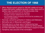 the election of 19682