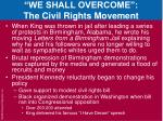 we shall overcome the civil rights movement5