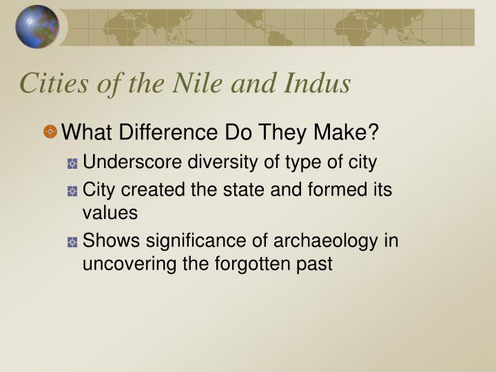 Cities of the Nile and Indus