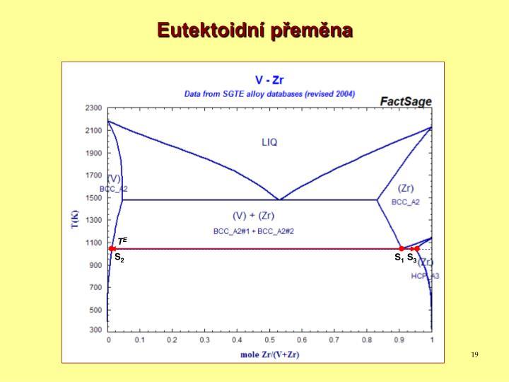 Eutektoidní přeměna