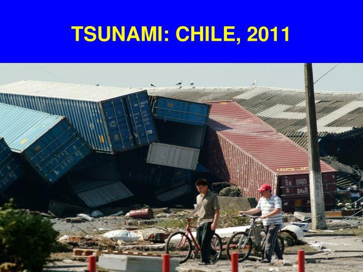 TSUNAMI: CHILE, 2011
