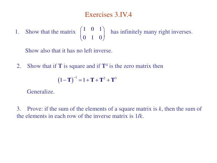 Exercises 3.IV.4