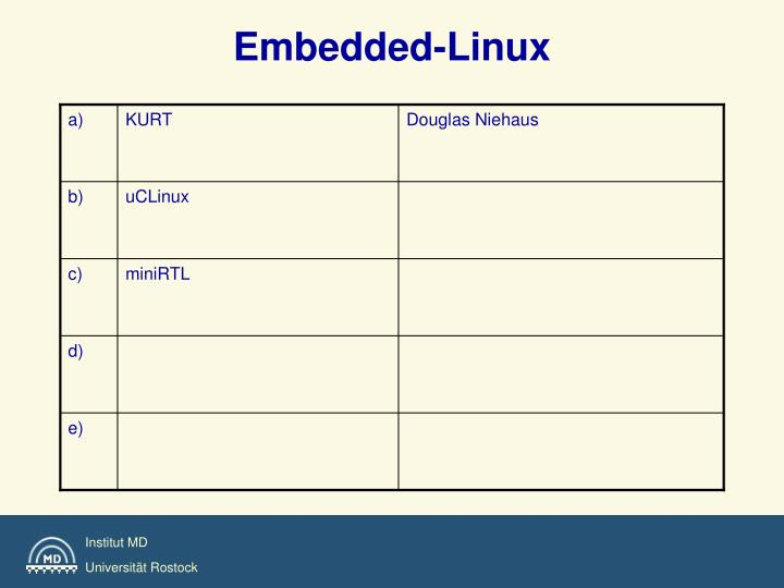Embedded-Linux