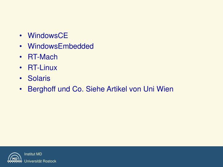 WindowsCE