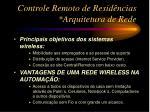 controle remoto de resid ncias arquitetura de rede1