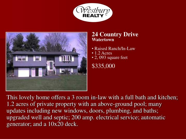 24 Country Drive