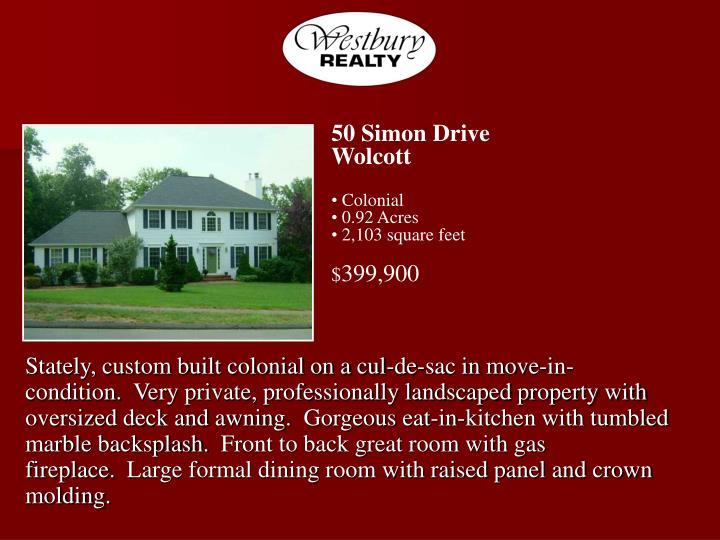 50 Simon Drive