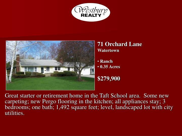 71 Orchard Lane