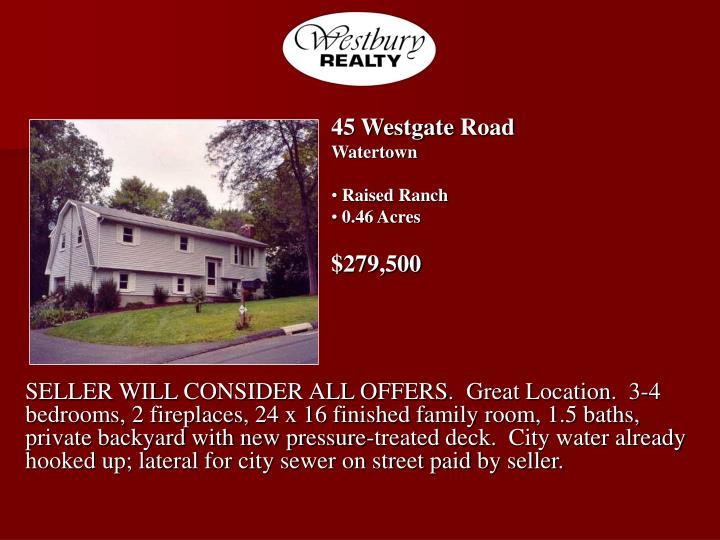 45 WestgateRoad