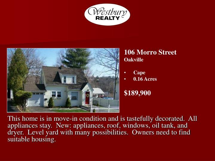 106 Morro Street