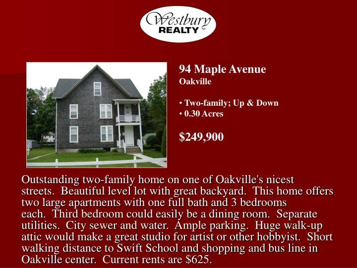94 Maple Avenue