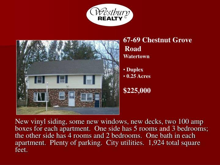67-69 Chestnut Grove Road