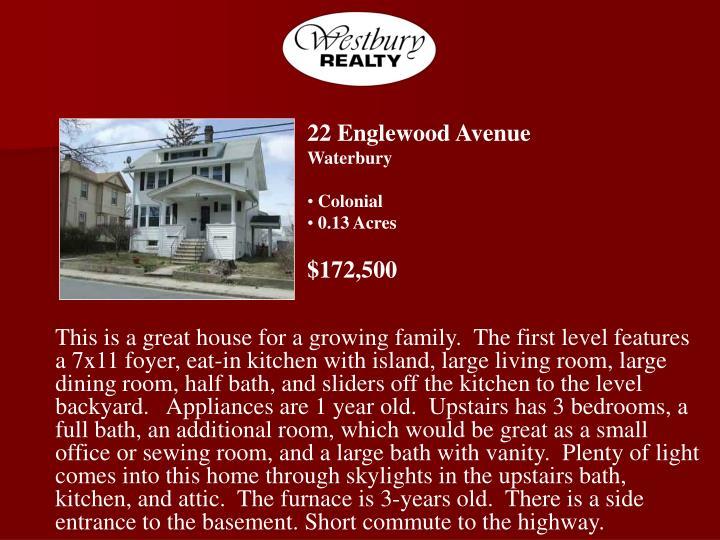 22 Englewood Avenue