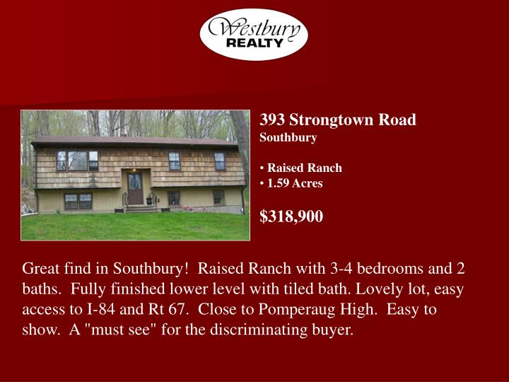 393 Strongtown Road