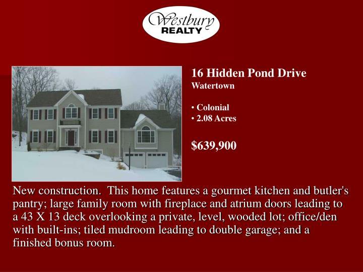 16 Hidden Pond Drive