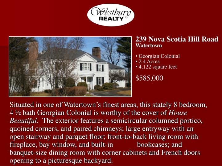 239 Nova Scotia Hill Road
