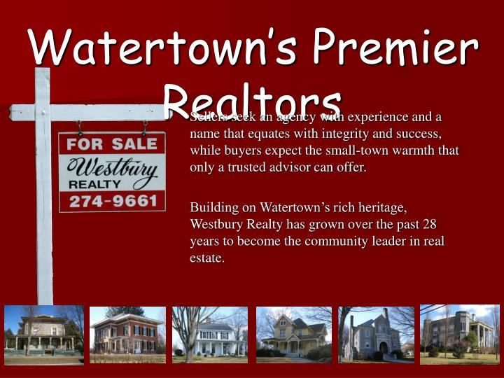 Watertown's Premier Realtors