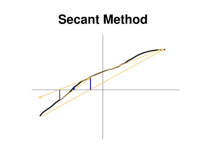 Secant Method