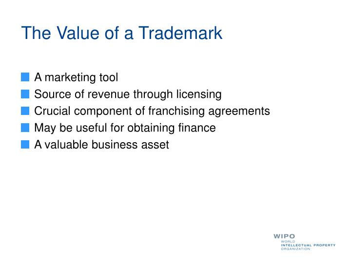 The Value of a Trademark