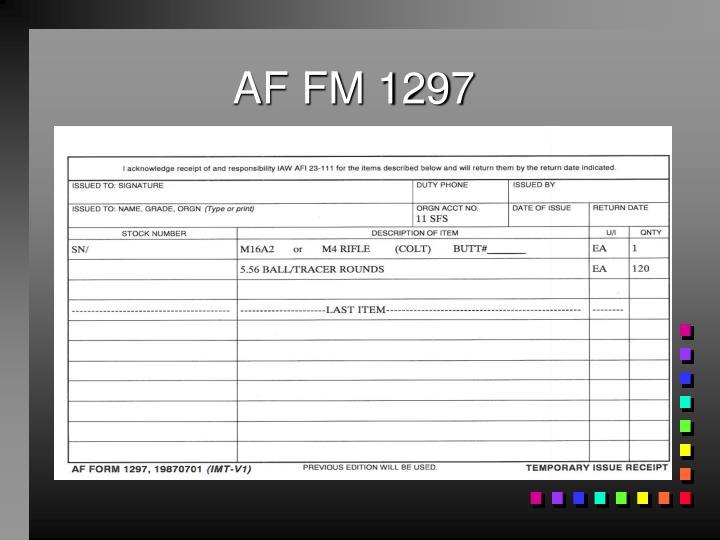 AF FM 1297