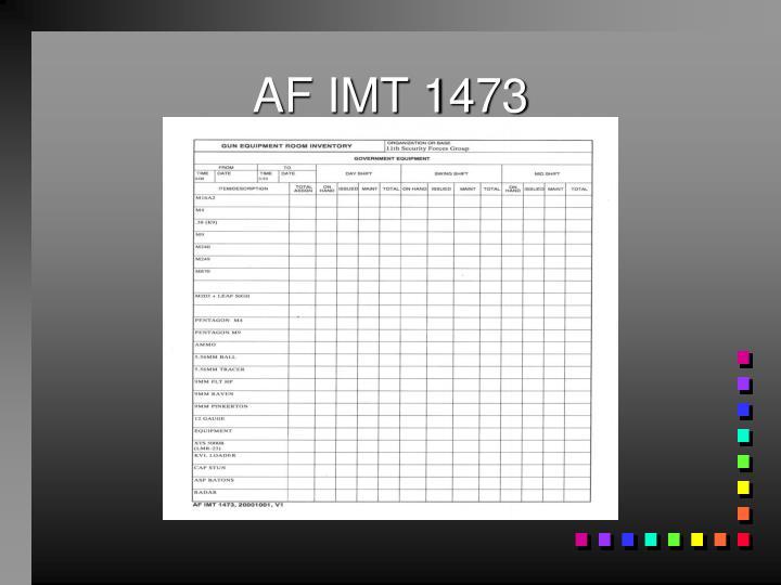 AF IMT 1473