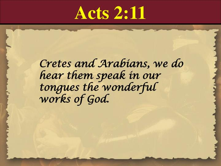 Acts 2:11