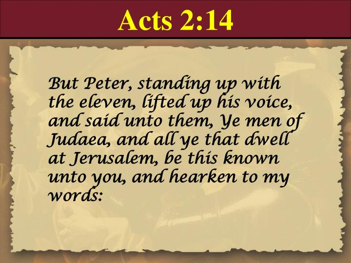 Acts 2:14