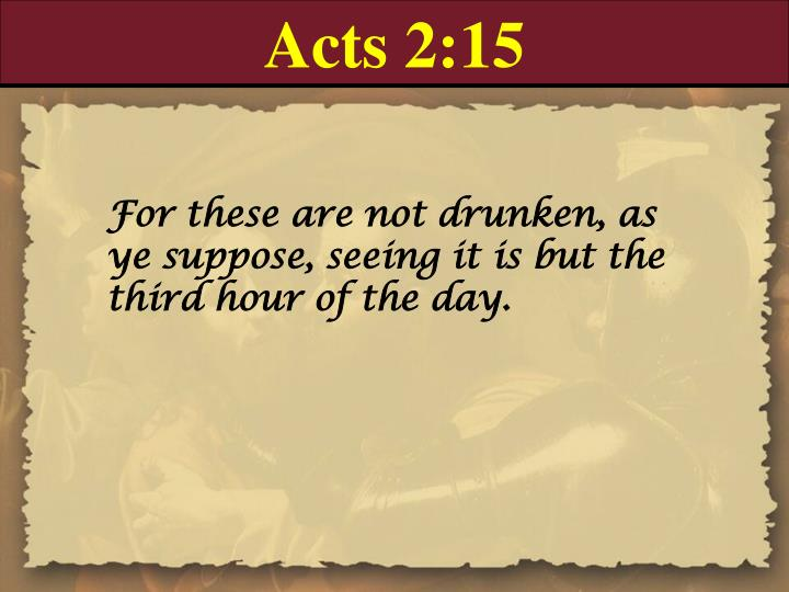 Acts 2:15