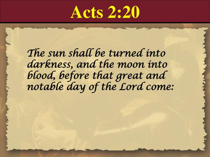 Acts 2:20