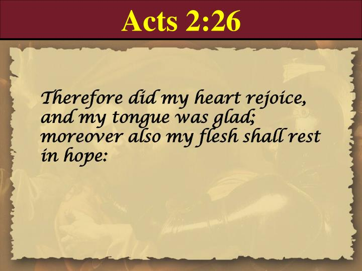 Acts 2:26