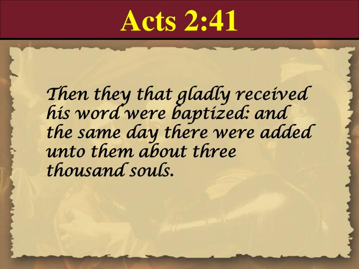 Acts 2:41