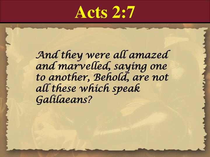 Acts 2:7