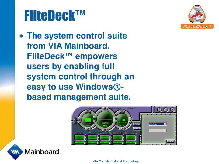 FliteDeck™
