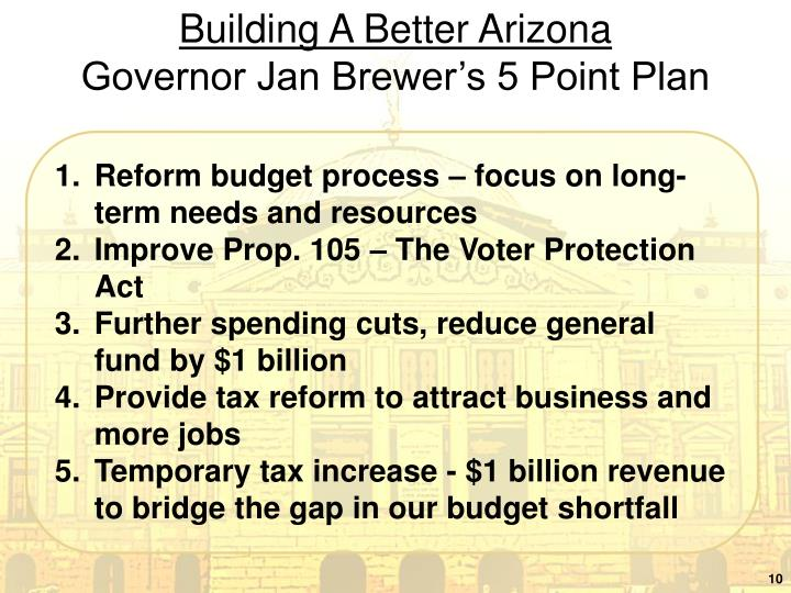 Building A Better Arizona