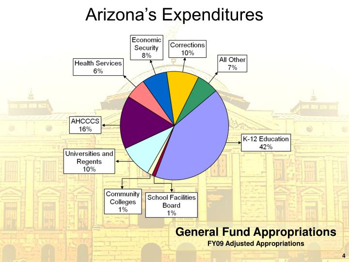 Arizona's Expenditures