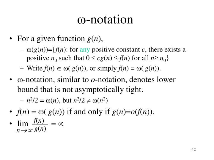 -notation