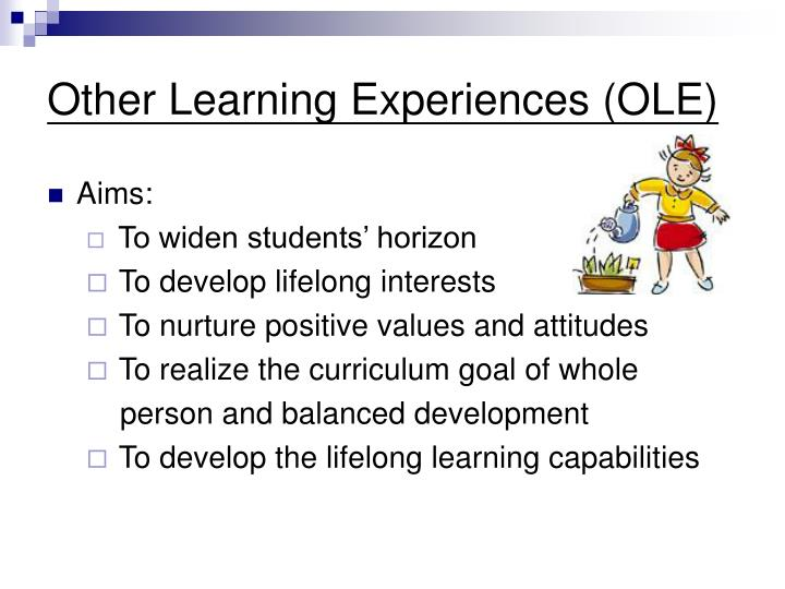 Other learning experiences ole
