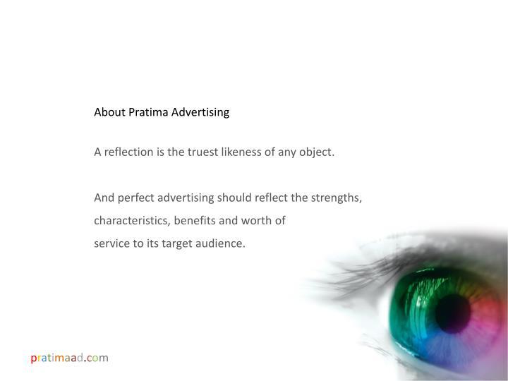 About Pratima Advertising