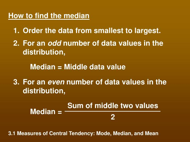 Sum of middle two values