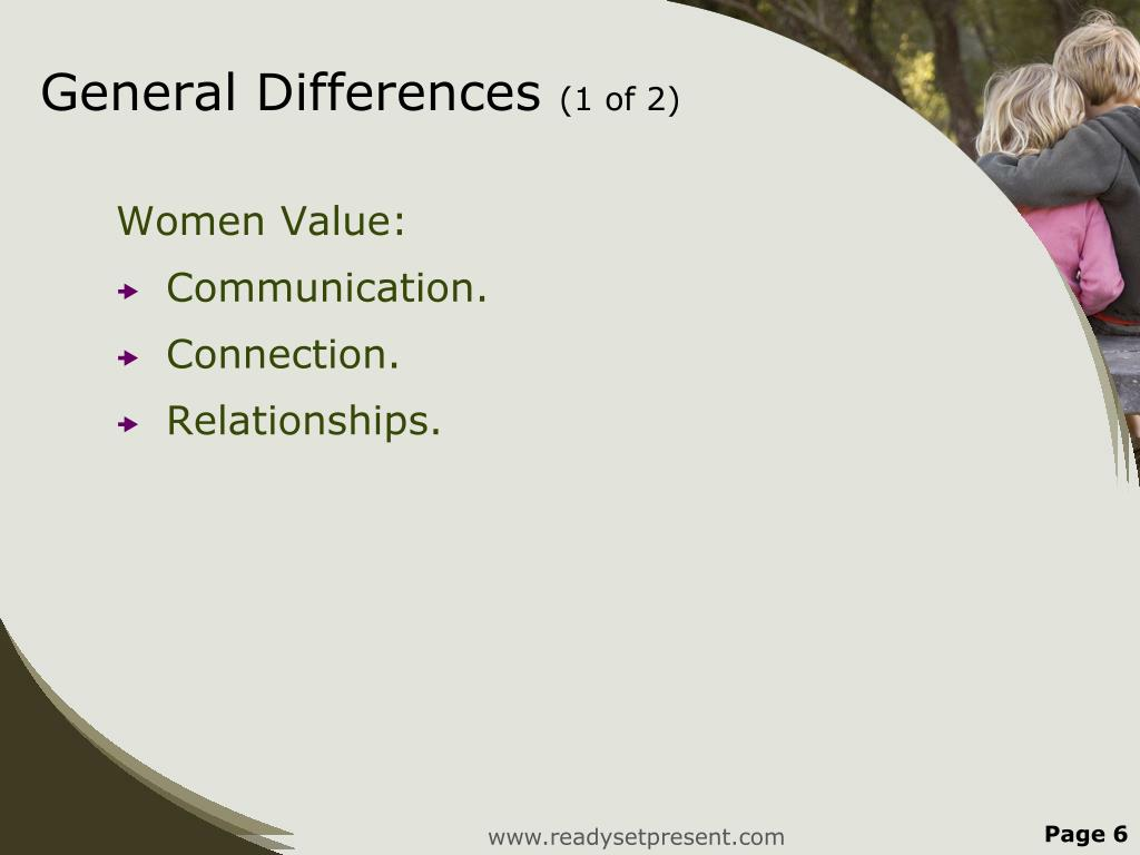 General Differences