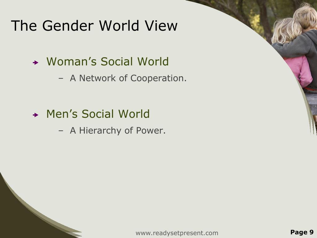 The Gender World View
