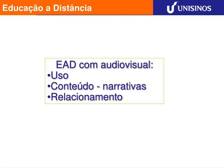 EAD com audiovisual: