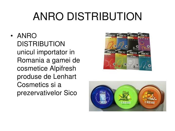 ANRO DISTRIBUTION