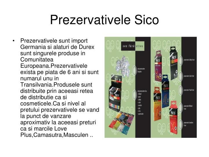Prezervativele Sico